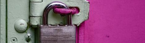 master-lock-on-door